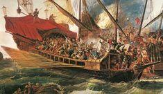 17 DE DICIEMBRE. – EFEMÉRIDES MILITARES DE ESPAÑA Sailing, Art, December 17, Military History, 18th Century, Empire, Soldiers, Boats, Venice Italy