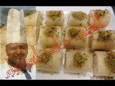 طريقة عمل حلاوة الجبن في البيت مع الشف عماد ابوصيام sweetness of cream c...
