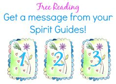 Free Psychic Reading with an uplifting and loving message from your Spirit Guides. I picked #3. Which card did you pick?