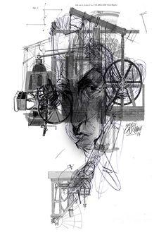 """""""Los hijos de los días"""" - Galeano ilustrado por Casciani 19/1 . acá podés leer el texto:http://andrescasciani.blogspot.com.ar/2016/01/los-hijos-de-los-dias-galeano-ilustrado_19.html"""