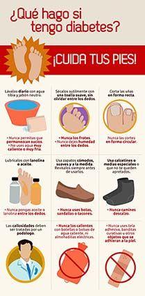 El cuidado de los pies (Da clic en la imagen ampliada para verla en alta resolución)