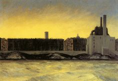 East River, Edward Hopper (1882-1967)