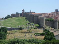 Beautiful Avila , Spain.
