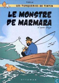 Les Aventures de Tintin - Album Imaginaire - Le Monstre de Marmara