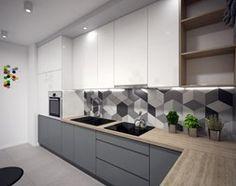Aranżacje wnętrz - Kuchnia: Kuchnia 1 - Kuchnia, styl nowoczesny - Zieja Interiors Design. Przeglądaj, dodawaj i zapisuj najlepsze zdjęcia, pomysły i inspiracje designerskie. W bazie mamy już prawie milion fotografii!