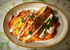 Placki ziemniaczane - przepis Magdy Gessler Vegan Recipes, Cooking Recipes, Ukrainian Recipes, Polish Recipes, Polish Food, Potato Dishes, Tasty Dishes, Vegetable Pizza, Dinner Recipes