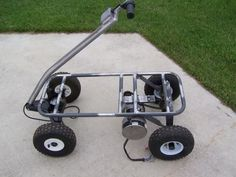 Pimped Out Radio Flyer Wagon | we wanted the rear axle set up so it wound have a neutral. just in ...