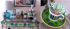 Simply print out what you like and start decorating for a one-a-kind party. From clover garland and cupcake/garnish flags to cup wraps and napkin rings your guests will be green with envy!