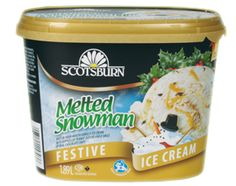 #scotsburn #icecream #festive #seasonal #holiday #meltedsnowman