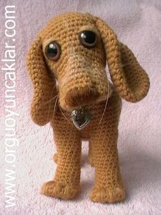 Amigurumi 8 inc Dog Pattern by Denizmum on Etsy