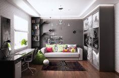Комната для мальчика - Интерьеры квартир, домов - MyHome.ru