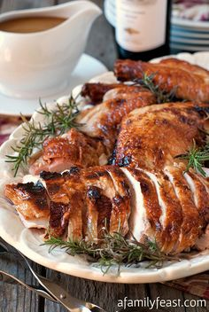 Perfect Roast Turkey - Includes a great brine plus a method of roasting that prevents your turkey from getting dry while roasting.