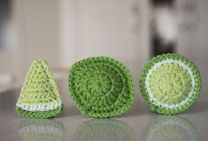 Lime, Tampons, Crochet, Limes, Knit Crochet, Crocheting, Chrochet, Hooks, Ganchillo