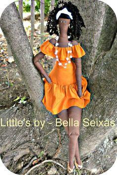 African dolls Brazilian doll rag doll cloth doll Brazil dolls human figure doll…