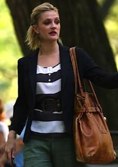 I freaking NEED Drew Barrymore's bag in Going the Distance.  Looks like vintage Prada though... which is most def. out of my budget.