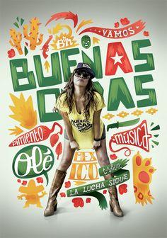 Buenas Ondas by Atelier Design , via Behance  mackill.com