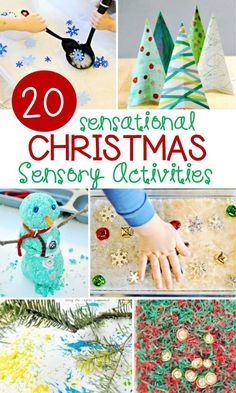 20 Sensational Christmas Sensory Activities – The Letters of Literacy What fun Christmas activities for kids! These 20 sensational Christmas sensory activities are a great addition to the holiday season. Christmas Activities For Toddlers, Christmas Crafts For Kids, Christmas Themes, Christmas Fun, Christmas Letters, Holiday Activities For Kids, Kid Crafts, Holiday Crafts, Christmas Ornament