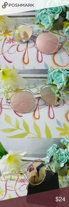 HIGH QUALITY CAT EYE MIRROR VINTAGE  SUNGLASSES Ca .silver frame rose lens HIGH QUALITY CAT EYE MIRROR VINTAGE  SUNGLASSES Cat eye Women Sunglasses 2017 New Brand Design Mirror Flat  Vintage Cateye Fashion sun glasses lady Eyewear  58mm   ALSO AVAILABLE IN MY CLOSET. LATEX WAIST TRAINER NEOPRENE CONTROL CINCHER VEST CORSET BUTT LIFTER PADDED PANTY SWIMSUIT WOMAN MEN SUNGLASSES SILICONE BRA ADHESIVE NIPPLE COVERS PHONE Accessories Sunglasses