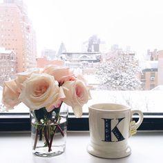 Snowy NYC morning.