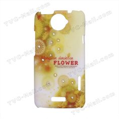 Dandelion Flower Diamond Hard Case for HTC One X