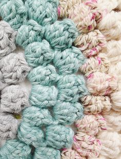 Crochet Nub Stitch : crochet patterns on Pinterest Crochet Stitches, Stitches and Crochet ...
