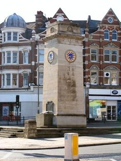 The Clock Tower and War Memorial Golders Green