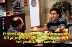 Seinfeld on homosexuality
