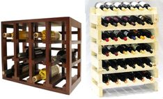 Modular wine racks are flexible which can easily fit in small wine storage spaces. Stackable wine racks are a convenient way of storing your precious vintage wines since they eliminate the use of more space when adding more wine bottles. - Learn more here -http://www.winecellarspec.com/wine-storage-ideas-for-small-spaces/.