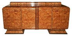 Art Deco Burlwood Sideboard   Modernism