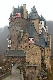 mittelalterliche Burg Eltz, Germany  One of my fondest memories of my time in Germany.  I saw it the week before Christmas in the snow.