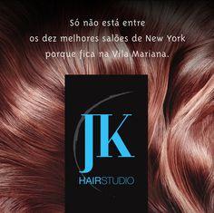 Títulos / Campanha Social Media JK Hair Studio / Criação: Suzuki
