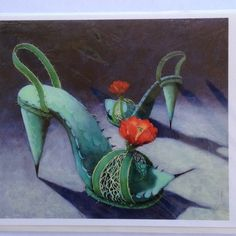 """Dancing in the Desert"" by artist Carolyn Schmitz."