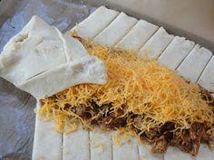 C Mom Cook: Chicken Taco Braid