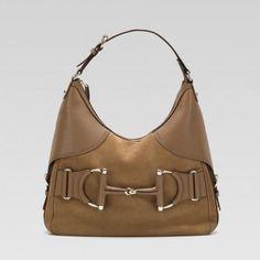 247602 Aix2g 2187 Gucci Heritage Medium Hobo mit Trensen und SIG Gucci Damen Handtaschen