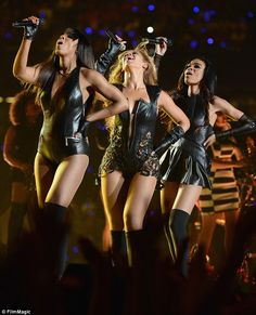 Touchdown: Destiny's Child perform during the Pepsi Super Bowl XLVII Halftime Show in 2013