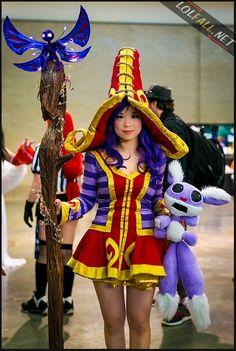 Wicked Lulu League of Legends Cosplay
