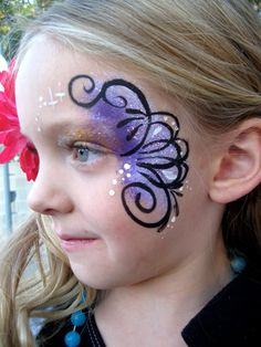 Face painting by Fairy Fun Faces! Paula Taylor artist