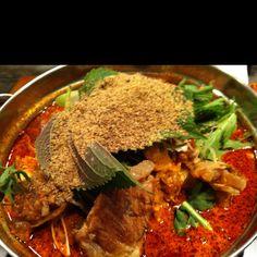 korean curry. it's so hot!