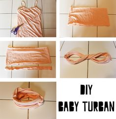DIY Baby Turban - Life with Our Littles