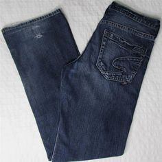 Men Silver Grayson Jeans Straight Leg Relaxed Distressed Mid Rise sz 31 X 34