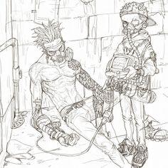 ArtStation - idea sketches, byung ju an