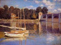 """""""The Bridge at Argenteuil""""  Claude Monet"""