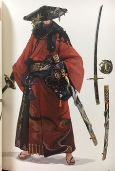 RPG - samurai Vegan Coleslaw vegan coleslaw cookie and kate Fantasy Character Design, Character Design Inspiration, Character Concept, Character Art, Arte Ninja, Ninja Art, Ronin Samurai, Samurai Warrior, Armor Concept