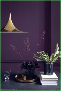 Schlafzimmer Wandfarbe ideen - Find Interior Design ideas for all the rooms of your home and get inspired by so. wandfarbe violett Schlafzimmer Wandfarbe ideen - Find Interior Design ideas for all the rooms of your home and . Room Wall Colors, Bedroom Colors, Purple Bedroom Design, Bedroom Ideas, Interior Design Kitchen, Modern Interior Design, Luxury Interior, Retail Interior, Interior Livingroom