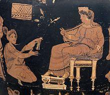 Demeter and Metanira, Apulian hydria (c.340 BC), Altes Museum, Berlin