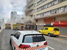 No one was injured when a fire broke out in a hotel in West Street between Point Road and Gillespie Street in the inner city of Durban on Wednesday morning just after 7am, Rescue Care emergency services said...