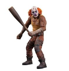 NOS, DC Collectibles Batman Arkham City: Series 3 Clown Thug with Bat Action Figure, Antique Alchemy