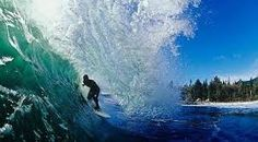 Surfing in Tofino Vancouver Island
