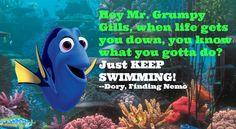 Listen to Dory!