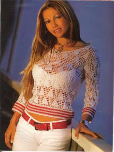 **A REALLY CUTE CROCHET BLOUSE**  Image detail for -Blusas en crochet blusas en crochet 6 – Blusas de moda 2012